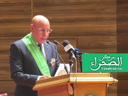 الرئيس محمد ولد الشيخ الغزواني ـ (أرشيف الصحراء)