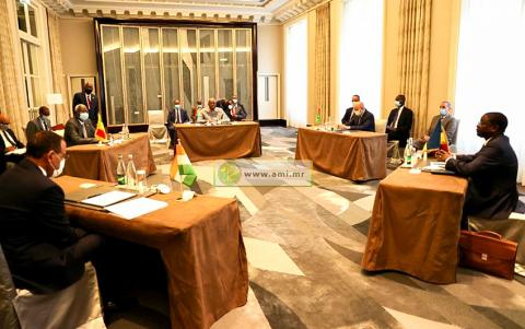 اجتماع رؤساء مجموعة دول الخمس بالساحل- المصدر (وما)
