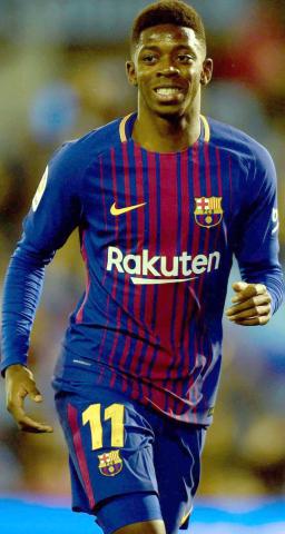 عثمان ديبملي - نجم منتخب فرنسا و برشلونة
