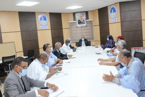 اجتماع الحزب الحاكم مع الحكومة
