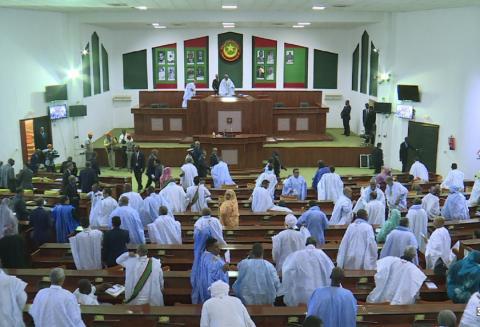الجمعية الوطنية في جلسة علنية سابقة (ارشيف - الصحراء)