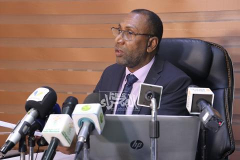 وزير الصحة سيدي ولد الزحاف- المصدر (الصحراء)