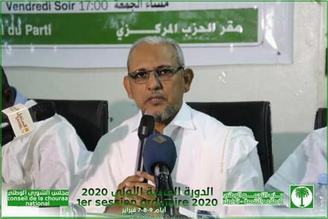رئيس تواصل محمد محمود سيدي (المصدر أرشيف تواصل اجتماعي)