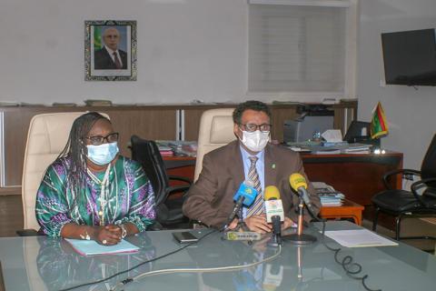 اجتماع سابق بين وزيري الطاقة الموريتاني والسنغالية - المصدر (وما)