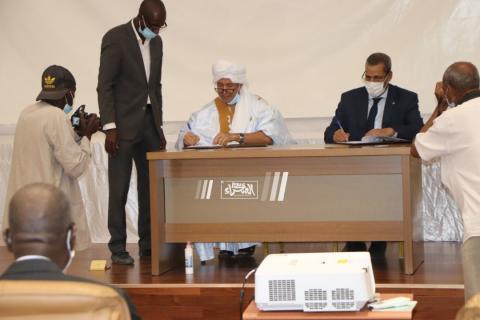 توقيع اتفاقيات مع 3 بنوك وطنية لترقية الثروة الحيوانية-(المصدر: الصحراء)