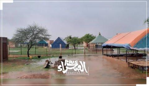 تساقطات مطرية-(المصدر: أرشيف الصحراء)
