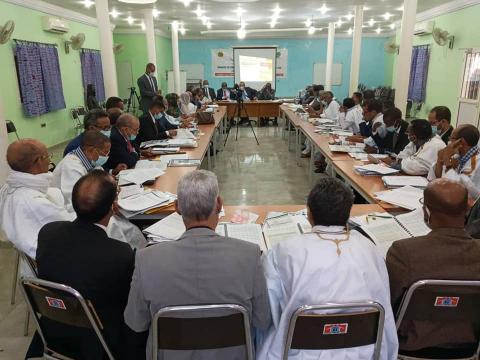 جانب من ملتقى كيهيدي (وزارة الداخلية)
