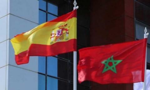 العلمان المغربي والإسباني (ارشيف - انترنت)