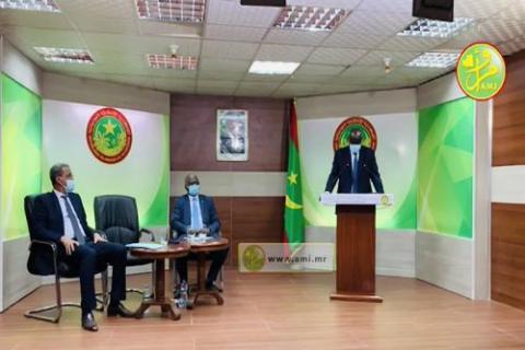 وزراء يعقبون على اجتماع الحكومة أمس ـ (المصدر: وما)