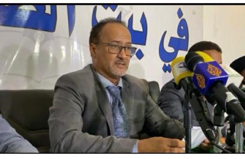 نقيب الصحفيين الموريتانيين محمد سالم ولد الداه ـ (المصدر: الإنترنت)