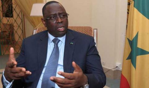 الرئيس السنغالي ماكي صال-(المصدر: الانترنت)