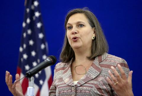 نائبة وزير الخارجية الامريكي للشؤون السياسيةفيكتوريا نولاند ـ (المصدر: الإنترنت)