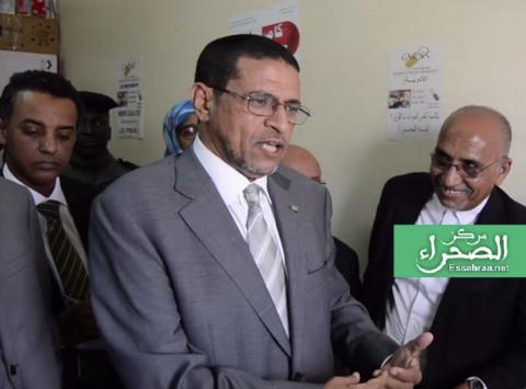 وزير الصحة محمد نذير حامد-(المصدر: الصحراء)