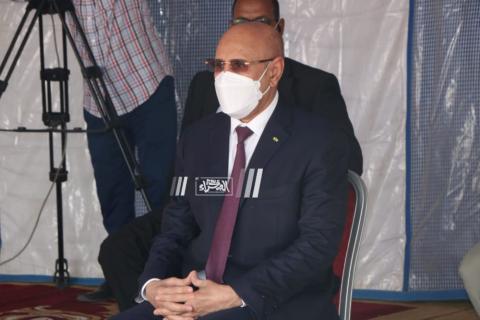 الرئيس محمد ولد الشيخ الغزواني _(أرشيف الصحراء)