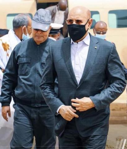 الرئيس ولد الغزواني,-(المصدر:الانترنت)