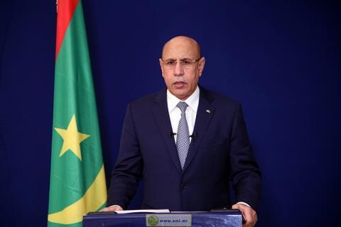 الرئيس محمد ولد الشيخ الغزواني ـ (المصدر: الإنترنت)