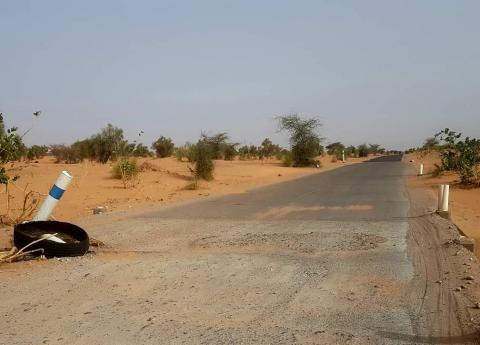 الصالة المتضررة بعد إصلاح الأعطاب- المصدر (وزارة النقل)
