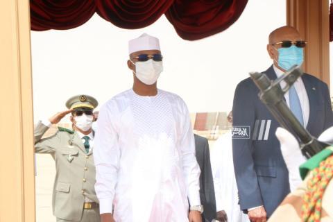 الرئيس غزواني يستقبل رئيس تشاد ـ (المصدر: الصحراء)