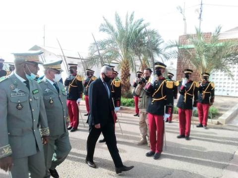 وزير الدفاع وقائد الأركان العامة للجيوش - (المصدر: الأركان العامة)