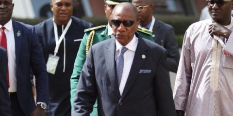 رئيس غينيا كوناكري ألفا كوندي- المصدر (الانترنت)