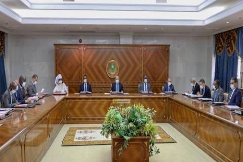 الحكومة الموريتانية- أرشيف