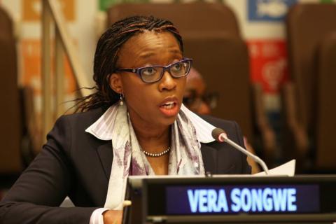 فيرا سونغوي الأمينة التنفيذية للجنة الأمم الاقتصادية بإفريقيا (المصدر: الانترنت)