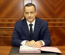 وزير الخارجية في حكومة تصريف الأعمال اسماعيل ولد الشيخ أحمد - (أرشيف و.م.ا)