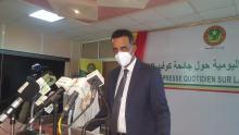 مدير الصحة العمومية وكالة محمد محمود ولد اعل محمود ـ (المصدر: الإنترنت)