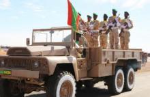 الجيش الموريتاني خلال عرض عسكري- المصدر (الصحراء)