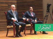 الرئيس محمد ولد الشيخ الغزواني رفقة الرئيس السابق ولد عبدالعزيز - (أرشيف الصحراء)