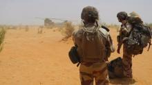 قوات فرنسية قرب غوسي في مالي. 24 مارس/آذار 2019. © أ ف ب.