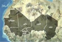 خريطة دول الساحل