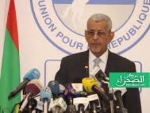 رئيس الحزب الحاكم سيدي محمد ولد الطالب أعمر (ارشيف - الصحراء)