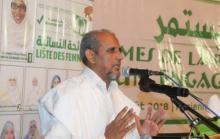رئيس حزب تواصل محمد محمود ولد سيدي ـ (المصدر: الإنترنت)