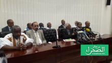 فريق الدفاع عن الدولة الموريتانية في ملف الفساد ـ (أرشيف الصحراء)