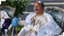 الرئيس السابق محمد ولد عبدالعزيز في آخر ظهور إعلامي له - (أرشيف الصحراء)