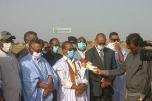 وزير التجهيز والنقل محمدو أحمدو أمحيميد