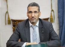 وزير المالية محمد الأمين ولد الذهبي- المصدر (انترنت)