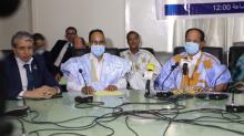 انطلاق عمل فريق برلماني للصداقة الموريتانية الجزائرية ـ (المصدر: الصحراء)