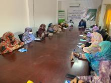 الهبا تنظم يوما تفاعليا حول المرأة في الإعلام الموريتاني ـ (المصدر: موقع الهابا)