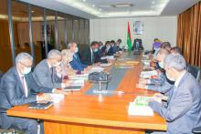 اللجنة الوزارية المكلفة بمكافحة كورونا ـ (المصدر: وما)