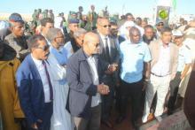 وزير الصيد خلال زيارته لميناء تانيت (المصدر: وما)
