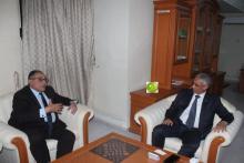 المندوب العام للتضامن الوطني، ونائب رئيس البنك الدولي (المصدر: وما)