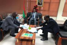 توقيع اتفاق بين موريتانيا والسنغال (المصدر: انترنت)