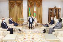 الرئيس غزواني يلتقي المبعوث الفرنسي إلى الساحل ـ (المصدر: وما)