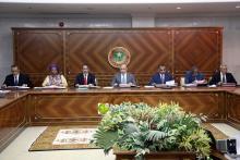 جانب من اجتماع المجلس (و م أ)