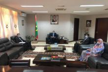 وزير الخارجية يستقبل السفير المغربي ـ (المصدر: وما)