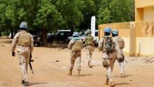 عناصر من قوات مينوسما في مالي