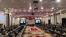 اجتماع سابق بين أطراف ليبية في مدينة طنجة
