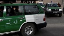 سيارات تقل عناصر من الأمن الجزائري - أرشيفية